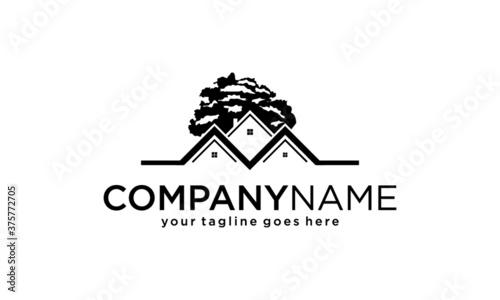 Obraz real estate logo - fototapety do salonu