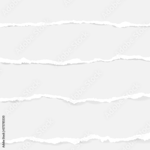 Tapety białe  collection-of-seamless-torn-paper-on-transparent-background