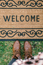 Welcome Home Door Mat