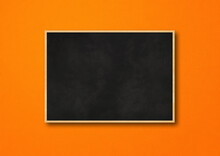 Traditional Black Board Isolat...