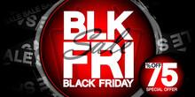 Black Friday Sale 75% Off, Pos...