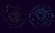 Abstract Tech Background With ...