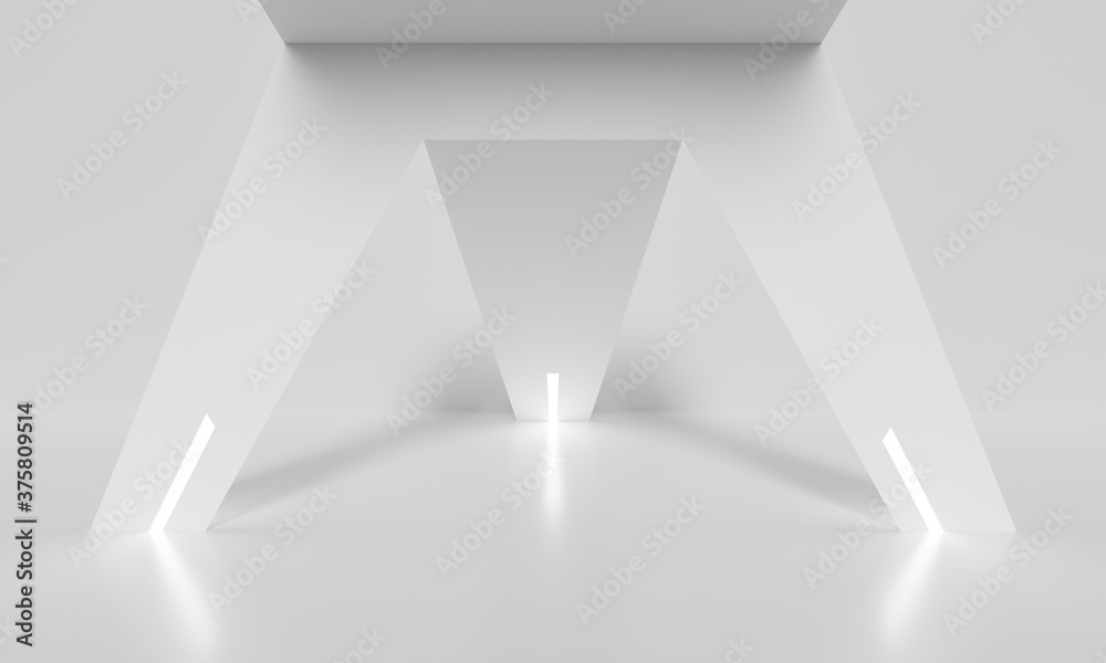 Abstract Interior Background. Corporate Graphic Design