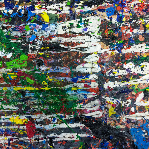 Paint texture background for art and craft project © tommoh29
