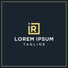 Ir Monogram Logo