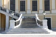 Romantische Treppe Aus Weißem...