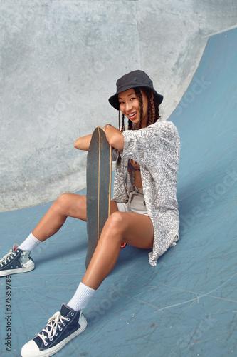Skateboarding Canvas