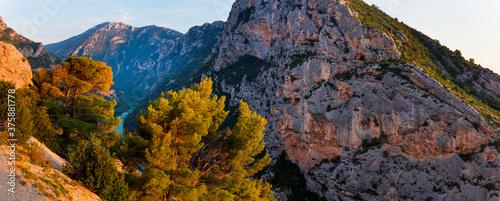 Gorges du Verdon Natural Park, Alpes Haute Provence, France, Europe Fotobehang
