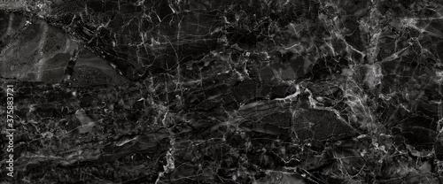 black marble stone texture background Billede på lærred