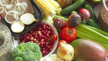 Balanced Diet Healthy Food, Or...