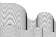 Abstract Architecture Wave 3d ...