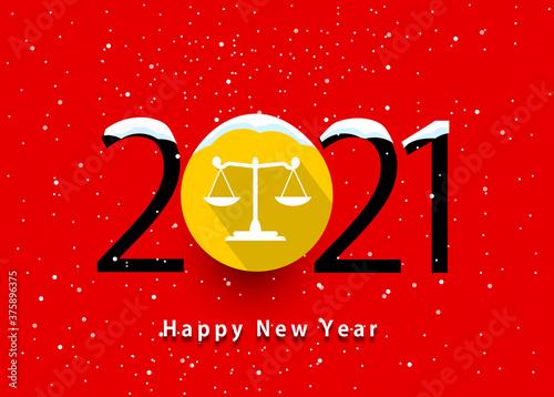 Fotografia happy new year 2021