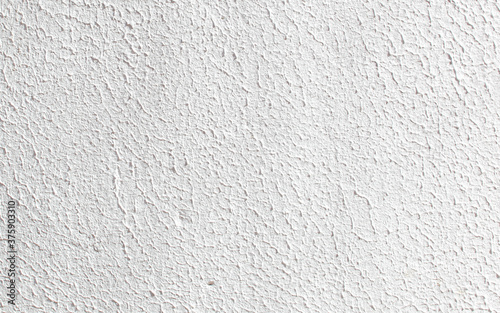 Fotografering White rough wall texture for backgrounds