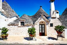 Trulli Houses In Alberobello V...