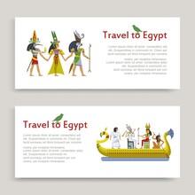 Travel To Egypt Inscription Ba...