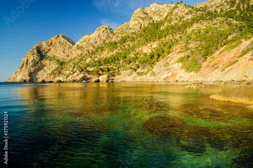 Cala en Basset. Morro de Sa Ratjada.Andratx. Ponent.Mallorca.Illes Balears.España.