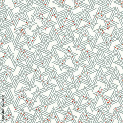 Obraz na plátně Geo Pattern, Japanese Kimono Female Organic Texture