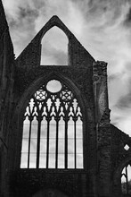 Tintern Abbey, Wales In Black ...