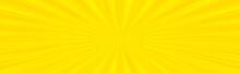 Panoramic Yellow Comic Zoom Wi...