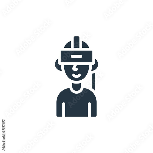 Valokuvatapetti virtual reality icon