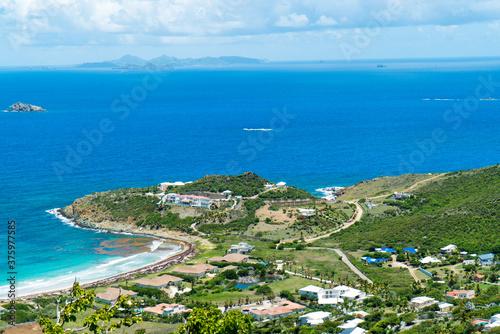 Fototapety, obrazy: The caribbean island of St.maarten / st.martin cityscape