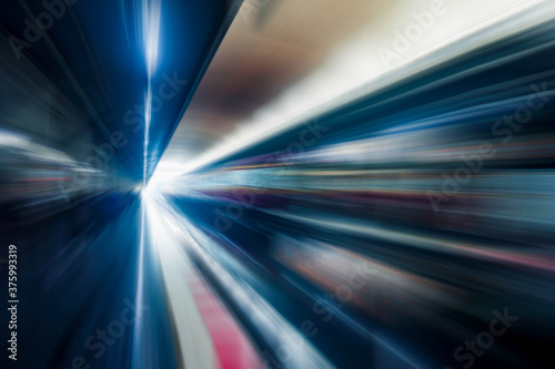 abstract motion background Canvas Print