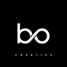 Bo Letter Initial Logo Design ...