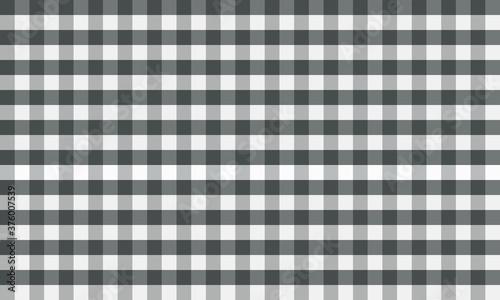 Black and white Thai loincloth Seamless Tartan Pattern Background Canvas Print