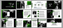 Green And Black Elements For I...