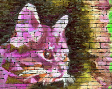 Street Art, Gros Plan Sur La T...