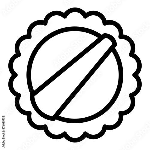 Tela Round washcloth icon