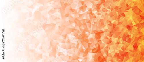キラキラしたアブストラクト背景 オレンジ色のグラデーション Fototapet