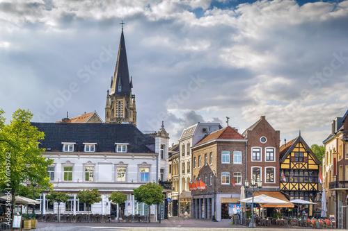 Sittard market square, Netherlands Fototapet