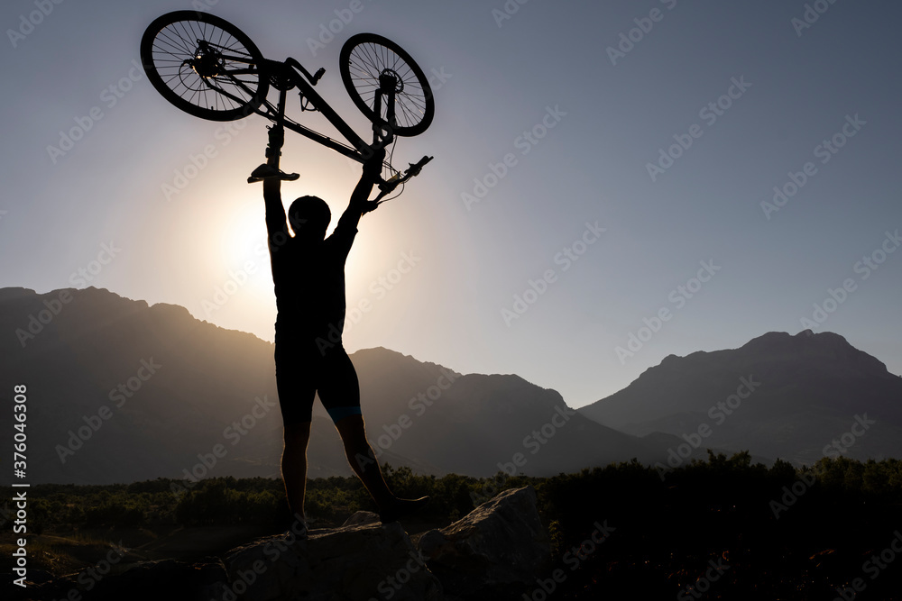 Fototapeta Like dogs, bicycles are social catalysts that attract a superior category of people