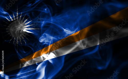 Obraz na plátně Marshall Islands smoke flag