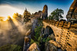 canvas print picture - Bastei