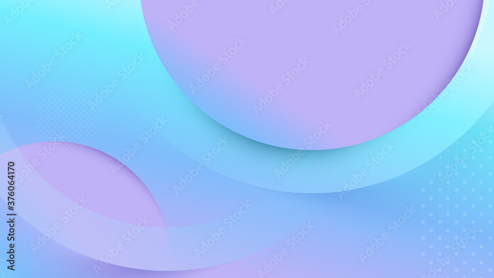 Abstract geometric fluid shape color background. modern with colorful shape. Vector illustration