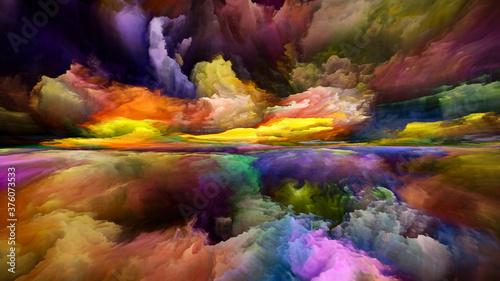 Quickening of Inner Spectrum Canvas Print