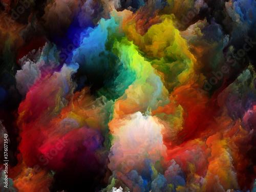 Fotografie, Obraz Multicoloured Canvas.