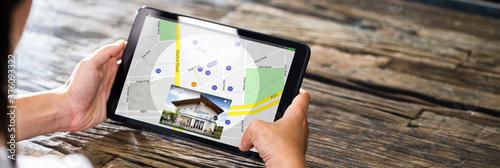 Obraz Real Estate Property Search Online - fototapety do salonu