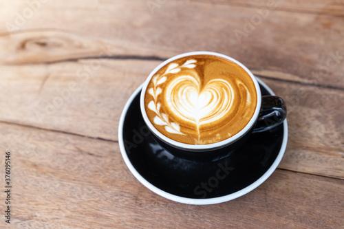 Obraz na plátně cup of cappuccino