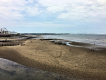 A View Of Bridlington In Yorkshire