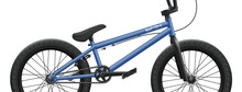 Blue BMX Bicycle Mockup - Righ...