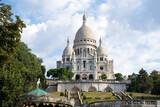 Fototapeta Paryż - Basilique du Sacré Coeur à Montmartre, Paris