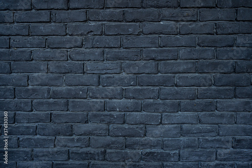Fotografie, Obraz Texture of black brick wall