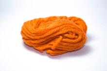 Lã Laranja Para Artesanato