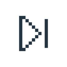 Skip Icon. Glyph Skip Icon For...