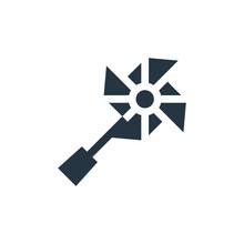 Pinwheel Icon. Glyph Pinwheel ...