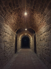 Old Wine Cellar Tunnel At The ...