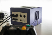 A Nintendo GameCube Vidoe Games Console A Games Console Released In 2001